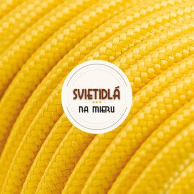 Ku textilným káblom je potrebné dokúpiť objímku a stropný držiak, po prípade dekoračné tienidlo, pokiaľ si to tak želáte.
