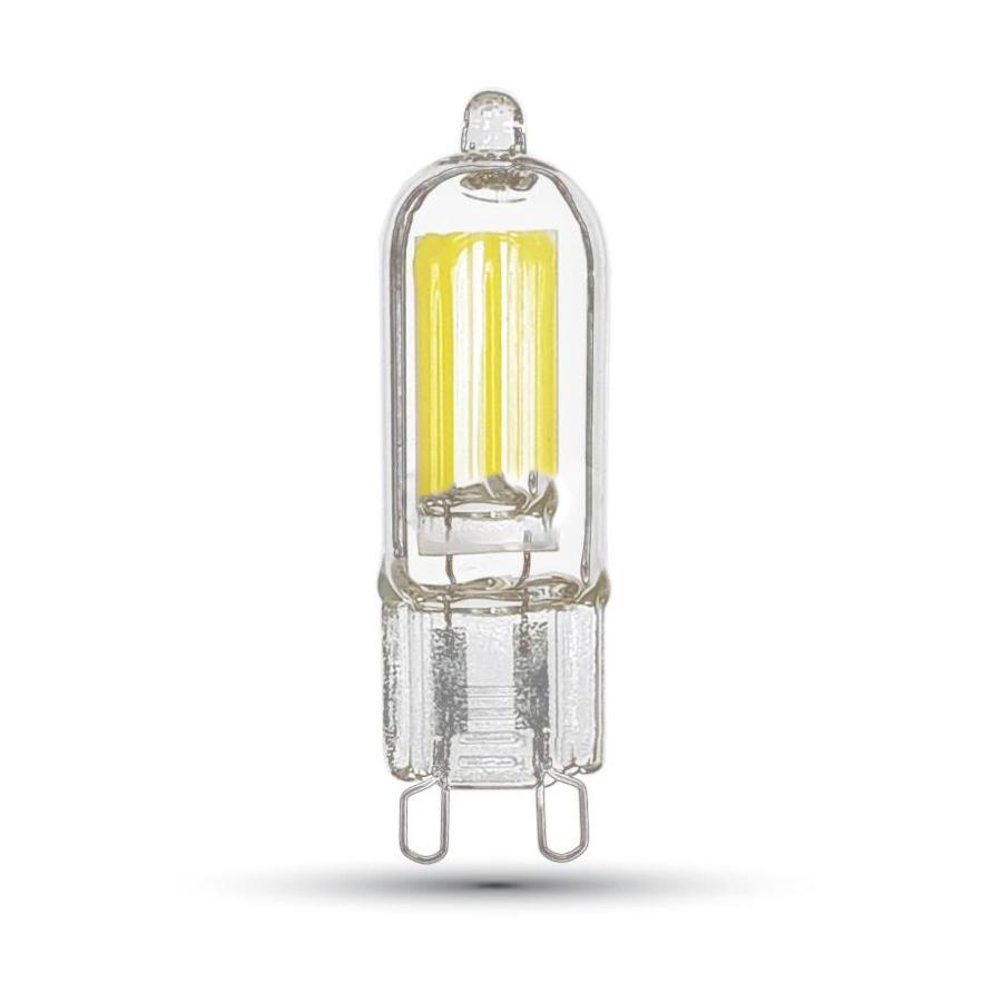 LED žiarovka - G9, 2W, Teplá biela, 230lm, A++ používa najnovšie LED