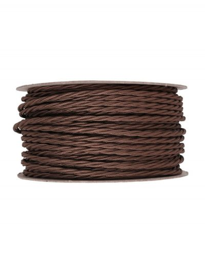Kábel-dvojžilový-skrútený-v-podobe-textilnej-šnúry-v-tmavo-hnedej-farbe-2-x-0.75mm-1-meter-1