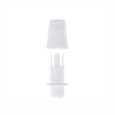 Plastový zámok na odľahčenie kábla • biela2