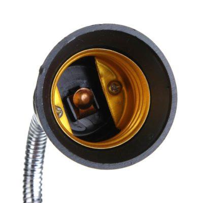 Predlžovací adaptér z pätice E27 do E27 •  30cm • čierna6