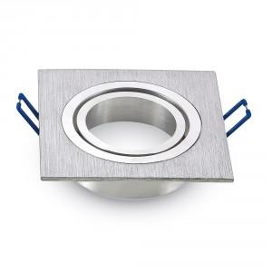 Rámik hranatý výklopný – brúsený hliník, V-TAC