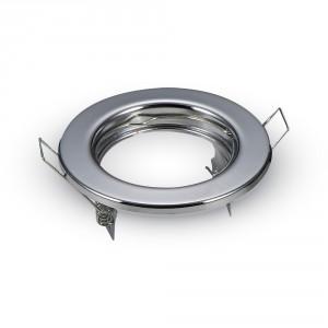 Rámik okrúhly nevýklopný lesklý – 2 kusy, V-TAC