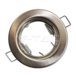 Rámik okrúhly nevýklopný matný, V-TAC
