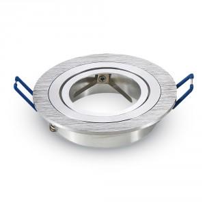 Rámik okrúhly výklopný – brúsený hliník, V-TAC