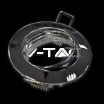 Rámik okrúhly výklopný lesklý, V-TAC