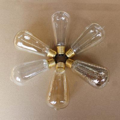 EDISON žiarovka - LEAF - E27, 40W, 120lm1