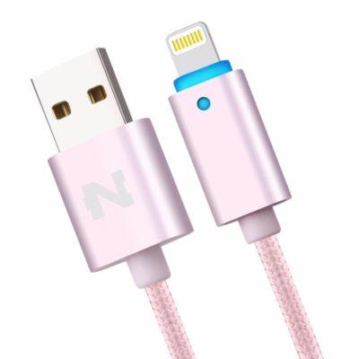 LED lightning kábel pre Apple zariadenia, 1.5m, kontrolka nabitia5