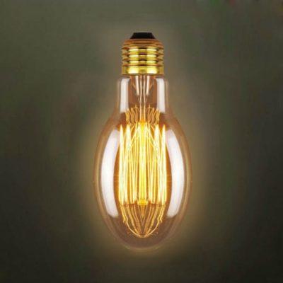EDISON žiarovka - EGG - E27, 40W, 150lm (2)