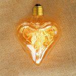 EDISON žiarovka - HEART - E27, 40W, 150lm (3)