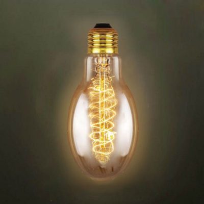 EDISON žiarovka - SPIRAL EGG - E27, 40W, 150lm (2)