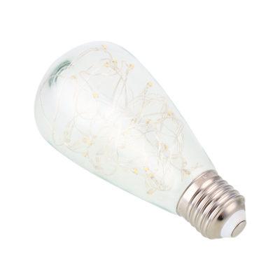 Dekoračná LED žiarovka EDISON je moderný typ LED žiarovky z historickej kolekcie EDISON žiaroviek