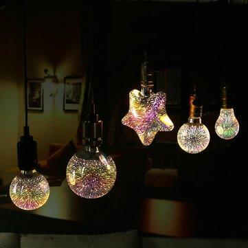 Kolekcia 3D FIREWORKS je kolekcia dekoračných žiaroviek, ktoré dokážu vytvoriť nádherné osvetlenie pre Vašu domácnosť, party, svadbu a podobne (2)