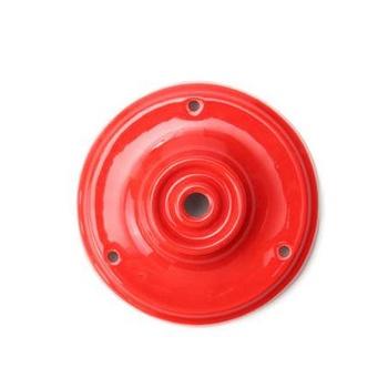 Porcelánový stropný držiak v červenej farbe (2)