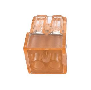 BOX Svoriek na káble - štvopólová, 20ks, oranžová