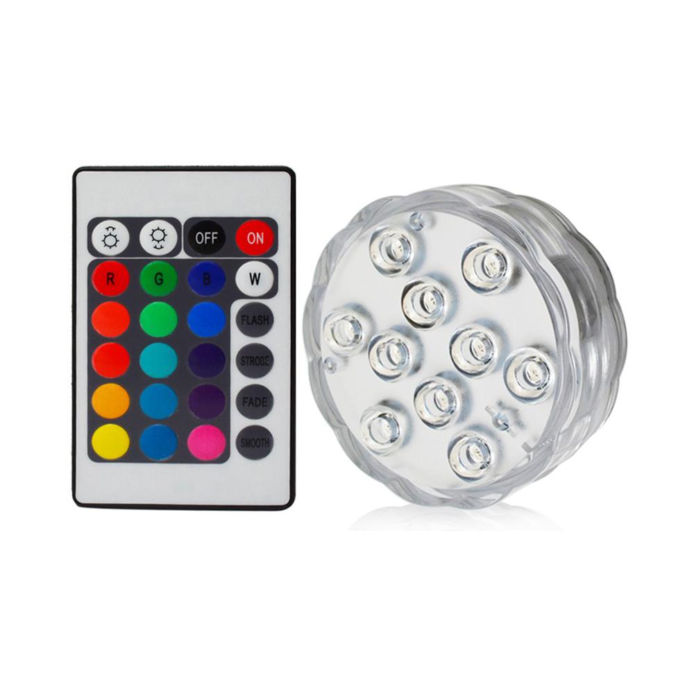 Vodotesný podstavec LED s diaľkovým ovládaním