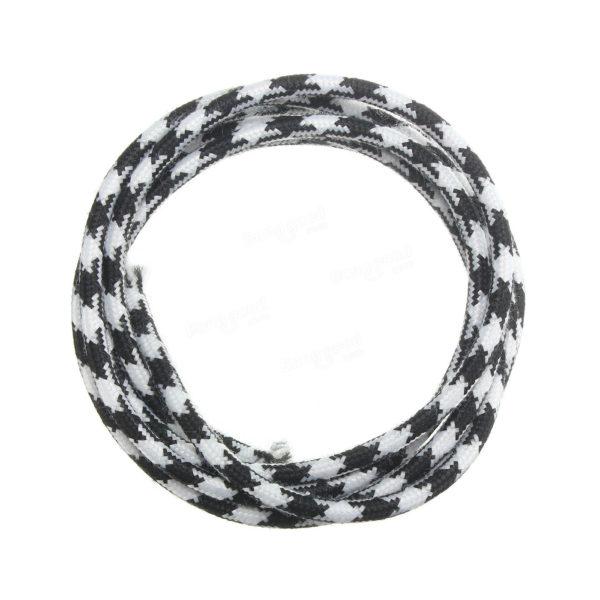 Kábel dvojžilový v podobe textilnej šnúry, vzor 3, 2 x 0.75mm, 1 meter