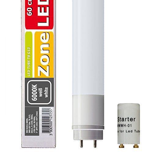 LED trubica, T8, 10W, G13 otočná 60cm, biela 6000K, Nano plast