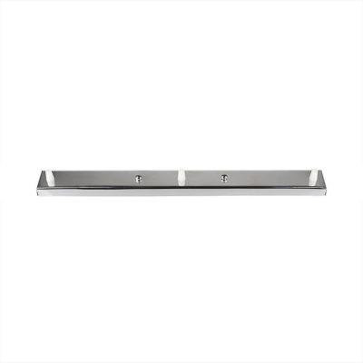 Stropný obdĺžnikový držiak na 3 svietidlá, kovový, 3 pätice. Štýlové držiaky na svietidlá, historické držiaky, plastové, kovové