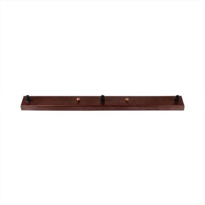 Stropný obdĺžnikový držiak na 3 svietidlá, kovový, 3 pätice. Vyhodte banálne typy stropných držiakov na svietidlá a zvolte si niečo nové