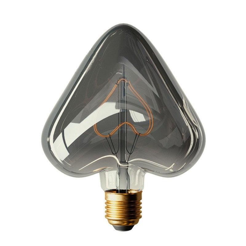 Edison Soft žiarovka HEART, E27, 110lm, 5W, Teplá biela, stmievateľná (2)