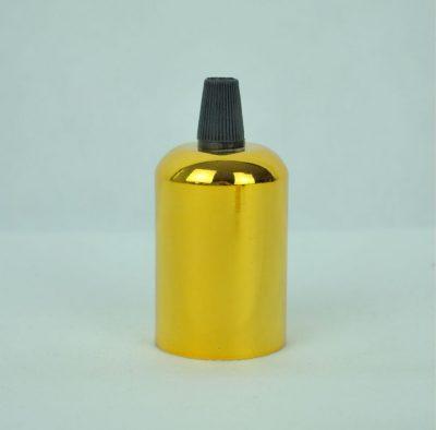 objímky pre lampy, výroba vlastného svietidlo, elektro komponent, držiak na žiarovku, lampa, svietidlo na mieru, zlatá farba (1)