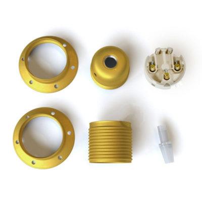 kovová-e27-objímka-exclusive-citrónovej-metalickej-farby-s-2-krúžkami-na-tienidlo-100-vyrobená-v-taliansku