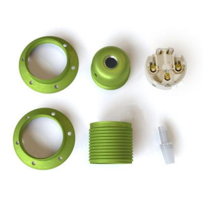kovová-e27-objímka-exclusive-metalickej-farby-kiwi-s-2-krúžkami-na-tienidlo-100-vyrobená-v-taliansku