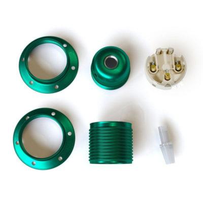 kovová-e27-objímka-exclusive-smaragdovej-metalickej-farby-s-2-krúžkami-na-tienidlo-100-vyrobená-v-taliansku