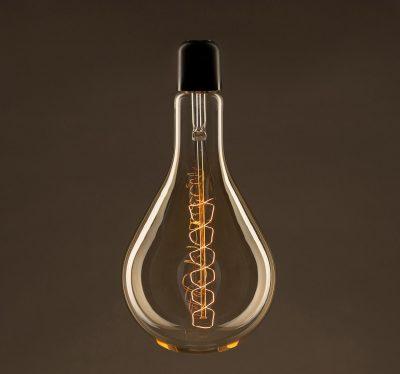 EDISON žiarovka - XXL SPIRAL - E27, 60W, 60lm (3)