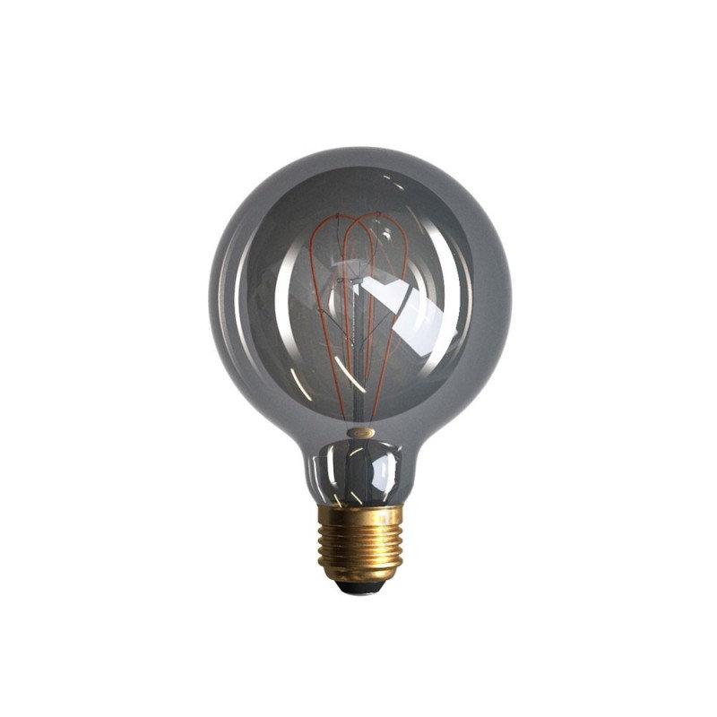 Edison Soft žiarovka, Dymová LED žiarovka - GLOBUS - 5W, E27, Stmievateľná, 2000K (2)