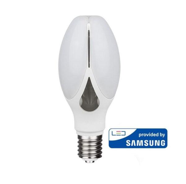 Extra silná LED Žiarovka so SAMSUNG čipom, E27, 40W, Teplá biela