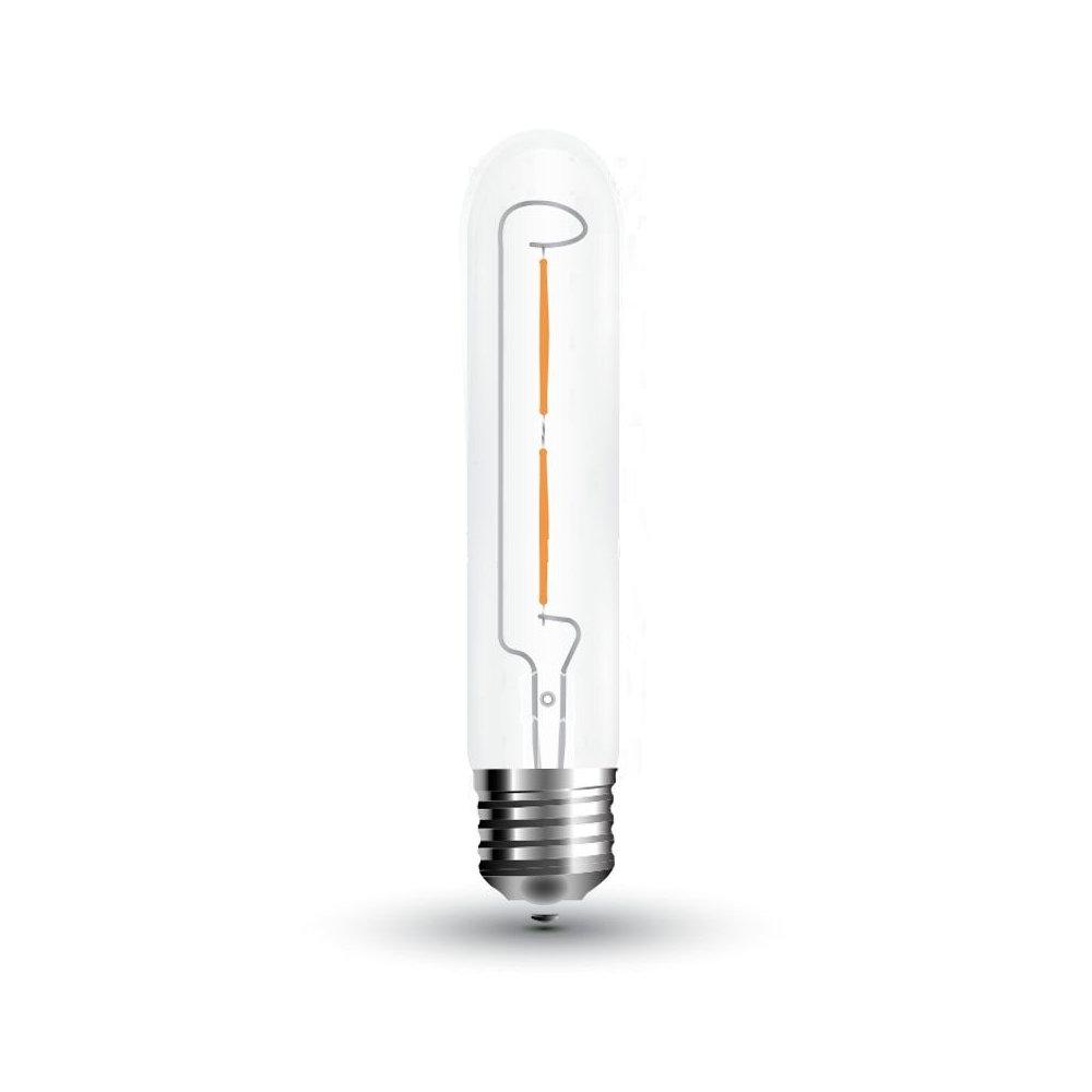 FILAMENT žiarovka - LINE - E27, Teplá biela, 2W, 200lm, V-TAC