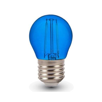 FILAMENT žiarovka - LITTLE - E27, Modrá, 4W, 60lm, V-TAC