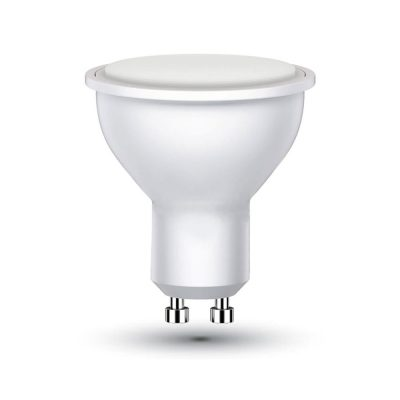 LED žiarovka GU10, 6W, Studená biela, 500lm, zvýhodnené balenie 2ks (2)