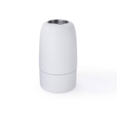 Porcelánová objímka s päticou E14 • Italy • biela (3)