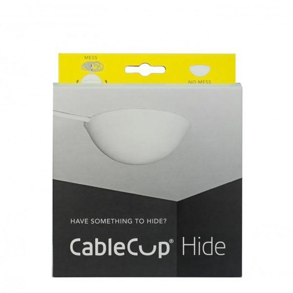 Stropná krytka káblov - Cable Cup Hide je tzv. Slepý pohár, ktorý skryje zásuvku alebo kábel v strope, kde nie je namontovaná lampa (2)