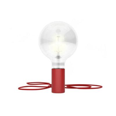 Magnetické svietidlo Magnetico®-Plug, červená farba (1)
