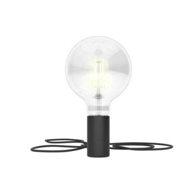 Magnetické svietidlo Magnetico®-Plug, čierna farba (1)