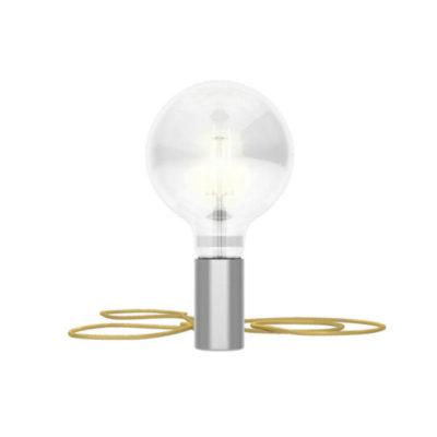 Magnetické svietidlo Magnetico®-Plug, kartáčovaný kov (1)