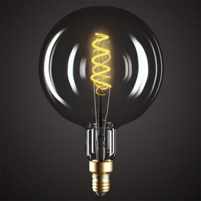 Edison Soft žiarovka, Dymová LED žiarovka - MOON - 5W, E27, Stmievateľná, 2000K (3)