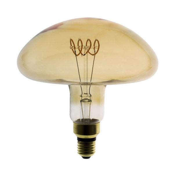 Edison Soft žiarovka, Smaragdová LED žiarovka - JELLYFISH - 5W, E27, Stmievateľná, 2000K (1)