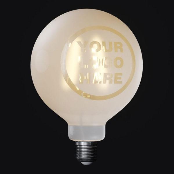 LED žiarovka. Prajete si reprezentovať svoju firmu, reštauráciu, bar hotel alebo iný podnik? Ponúkame vám výrobu žiarovky na mieru s Vašim logom firmy