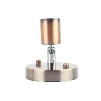 Jednoduché stropné svietidlo v modernom štýle - 180° rotácia, medená farba