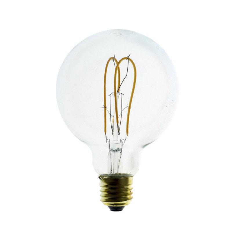 Edison Soft žiarovka, LED žiarovka - GLOBUS - 5W, E27, Stmievateľná, 2200K (1)