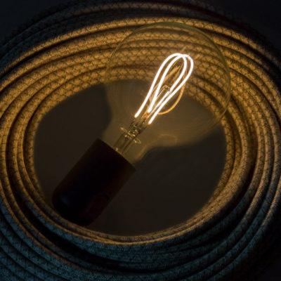 Edison Soft žiarovka, LED žiarovka - GLOBUS - 5W, E27, Stmievateľná, 2200K (2)