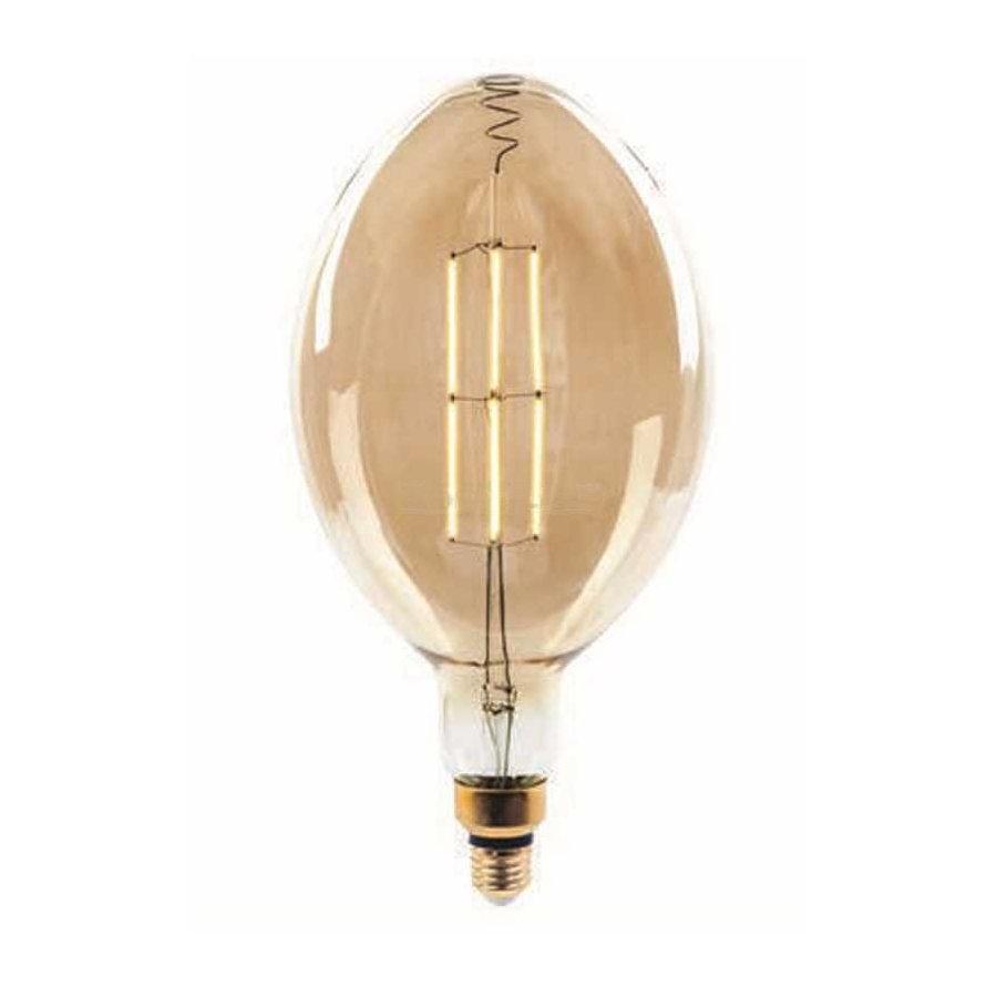 Edison Soft Filament žiarovka, ROCKET - 8W, E27, 500lm, Stmievateľná, Teplá biela