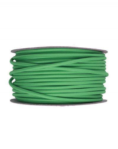 Kábel-dvojžilový-v-podobe-textilnej-šnúry-v-tmavo-zelenej-farbe-2-x-0.75mm-1-meter-2