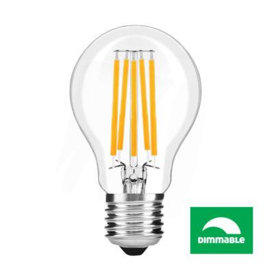 LED Filament žiarovka AVIDE, Globe, 10W, E27, 1040lm, Stmievateľná (2)