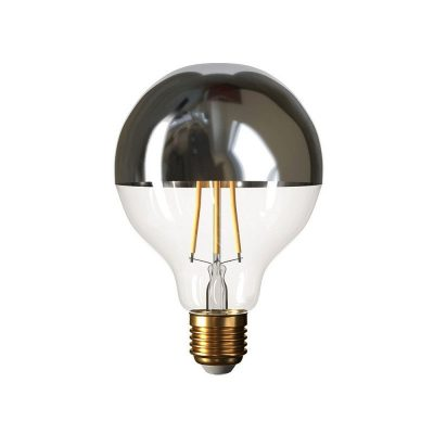 Zrkadlová dekoračná žiarovka 7W, E27, 806lm, GLOBUS, Strieborná, Stmievateľná (1)